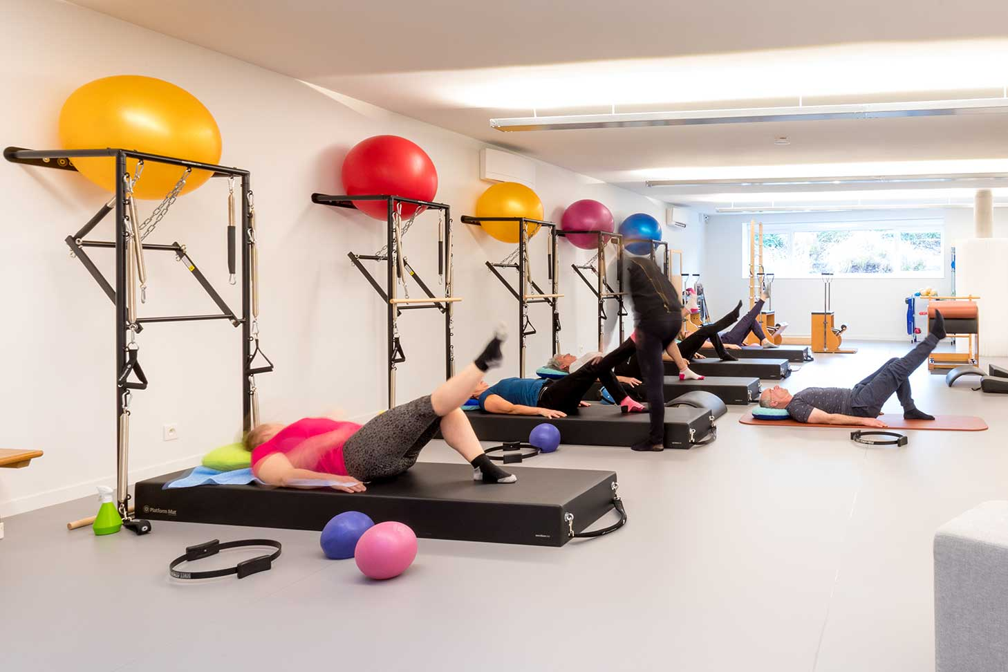 Medineth Pure Pilates Studio Grobbendonk - Groepsles